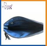 Qualitäts-Polyester-kosmetischer Beutel-kosmetischer Beutel mit PU-Griff