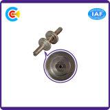 Aço de carbono 4.8 / 8.8 / 10.9 Porca de parafuso não-padrão galvanizado para construção / Bridgerailway / Machine