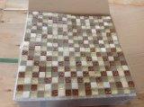 혼합 색깔 유리와 돌 모자이크 (VMS8131, 300X300mm)