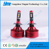 Lâmpada principal do diodo emissor de luz do farol H4 do diodo emissor de luz do acessório 25W do carro auto
