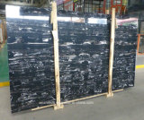 Silver Dragon Marble Tiles Black Marble Slabs for Flooring / Wall Tiles / Countertops