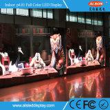 Farbenreiche P4.81 LED Baugruppen-Innenbildschirmanzeige der Mietstadiums-Ereignis-