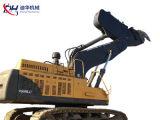 Crescimento da rocha de Hitachi Zax450 da máquina escavadora