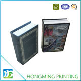 Empaquetado de la joyería Diseño del libro de caja con cierre magnético