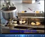 Automatischer elektrischer kleiner Krapfen-Bratpfanne-Krapfen, der Maschine für Imbisse herstellt