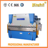 Máquina de dobra hidráulica 400/6000 da série do freio Wc67k da imprensa da placa do CNC