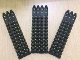 El color negro. 27 carga de la potencia de la carga del polvo de la tira del plástico 10-Shot S1jl del calibre