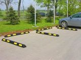 165cm反射産業ゴム製車の駐車ブロック