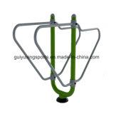 Macchina esterna di forma fisica della costruzione di corpo delle barre parallele