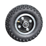 Grand pneu de 4 roues outre de planche à roulettes électrique de route