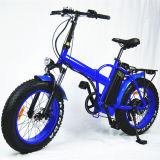 Bicicleta Elétrica Folding Mini Fat com 500W com bateria de lítio