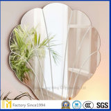 SGSは装飾的な壁の銀ミラーガラスを証明した
