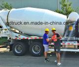 8-12 carro del mezclador concreto m3, carro del mezclador de cemento de HOWO