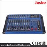 Jusbe Jb-L12 12チャネルDJ音楽Professinoalの可聴周波ミキサー48V Pantonの電源USB