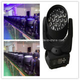 Pista móvil sostenida de la iluminación 19X12W Beam&Zoom del disco del LED (ML1912Z)