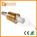 4W LED Leuchter-Glühlampe-Flamme-Spitze-Kandelaber-Kerze-Licht E14 E27