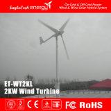 2kw 바람 터빈 바람 시스템 바람 선반 풍력 시스템