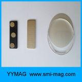 磁気背部が付いている昇進のプラスチック再使用可能な名前入りの記章