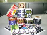 Etiqueta / etiqueta engomada del vinilo / adhesivo de etiquetas