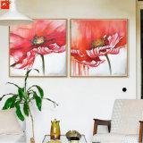 Peinture à l'huile d'aquarelle à grande taille sur toile