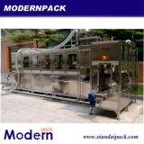 Máquina que capsula de relleno que se lava del agua de botella de 5 galones
