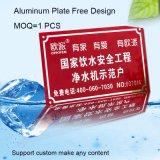 Qualitäts-Geräten-Typenschild mit Aluminiummaterial