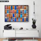 Genres colorés de Diffierent d'impression de toile de portes