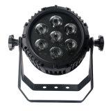 Patryの段階のディスコライト同価47 7LEDs*8W RGBW 4in1の高い発電LEDの同価ライト