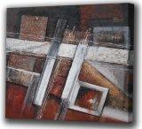Nueva pintura al óleo abstracta del diseño (ADA9118)