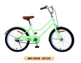 女の子のバイク型の子供の自転車