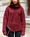 Cappotto del maglione, cappotto del maglione delle donne, signora Sweater Coat, cappotto di lavoro a maglia del maglione, usura di lavoro a maglia. Usura del maglione. Lavoro a maglia. Maglione