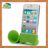 Silicone Horn Speaker Mobile Accessories pour l'iPhone 6