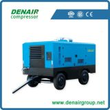 Compresseur d'air portable Cummins Diesel Engine pour construction