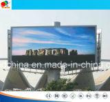 Pantalla de visualización impermeable al aire libre de LED de P16 P10 P8 SMD