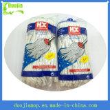 Lavette humide de vente chaude de coton de promo plus propre de lavette du Nigéria