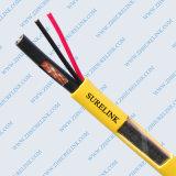 Cable combinado coaxial del cable Rg59 de la alta calidad