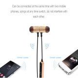 Fones de ouvido estereofónicos da em-Orelha da música do esporte sem fio dos fones de ouvido de Bluetooth com os auriculares do Mic para o Android do iPhone