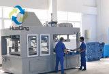 L1250*W1000*H150mm à usage moyen, palette en plastique avec 3 turbines, réseau
