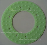 Junta de goma de la boquilla de la pista de ducha del manguito del silicón
