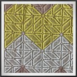 Guipura Multicolor do poliéster da guipura da guipura de múltiplos propósitos química do bordado