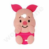 Schwein-Form-Silikon-Schoner für iPhone 7 plus 5.5 ''