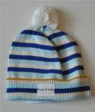 Теплым связанная младенцем крышка Beanie шлемов POM POM