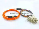 Cuerdas de corrección ópticas de fibra MPO