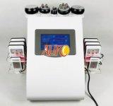Самая лучшая кожа RF кавитации ультразвука сбывания затягивает с пусковыми площадками лазера