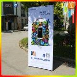 Tabellone per le affissioni della X-Bandiera della bandiera della flessione del PVC Frontlit (440g)