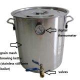 Caldaia domestica dell'acciaio inossidabile del mini di Kingsunshine 30L/8gal barile di preparazione della birra