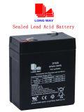 Verzegelde Navulbare Lead-Acid Batterij (6V8AH/20HR)