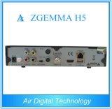 La ricevente satellite Zgemma H5 del T2 combinato di DVB S2 DVB con Bcm73625 si raddoppia casella superiore stabilita di Hevc il H. 265 IPTV di sostegno di memoria