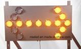 Segno della freccia del LED per il sistema di guida di traffico