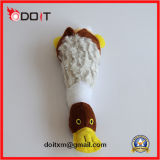 Brinquedo macio Super-Durável do cão do coelho do luxuoso do brinquedo